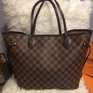 Louis Vuitton never full mm Authentic